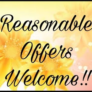 Other - Reasonable Offers Always Welcome!!!